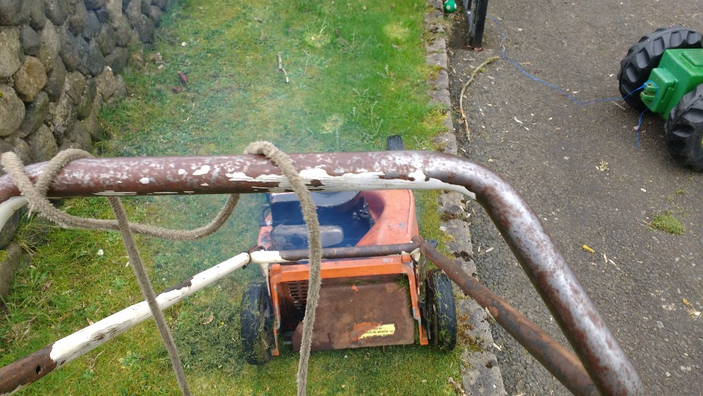 1978 Flymo DXL Lawnmower Project RRwyK
