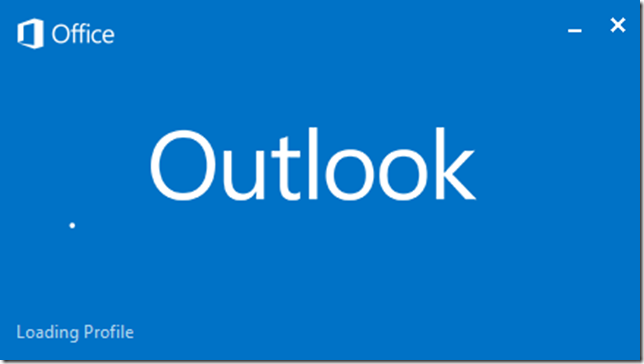 Outlook 2016 Loading Profile