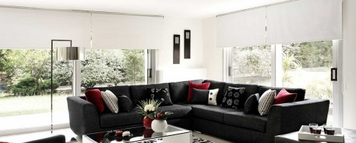 Motorized shades Los Angeles custom made blinds near me