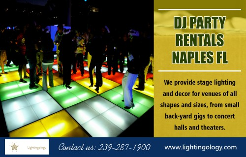 DJ Party rentals in Naples FL for all of your wedding event needs AT https://www.lightingology.com/ Find us on Goole Map : https://goo.gl/maps/KPoAWh6mkmr For outdoor events or any camping trip, these chairs look lovely. They are the most versatile, stylish and readily available products for such kind of games. Choose the DJ Party rentals in Naples FL that offers various services that are convenient to set up and use. You can choose among the various models listed on the site. The price if the chair is reasonable and there is a wide variety with multiple colors and varied choices. Social :  https://twitter.com/Partyrental_FL https://www.instagram.com/djpartyrentals_fl/ https://www.pinterest.com/DJPartyrentals/  ADDRESS — -Naples FL, 34102 Tel: 239–287–1900 Mail : lightingology@gmail.com