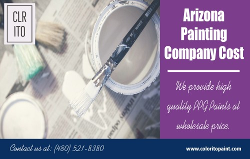 Arizona painting company cost offers come with the high customer satisfaction at https://coloritopaint.com/  Service us  Residential painting cost in Arizona			 House exterior painting prices in Tempe		 exterior painting companies exterior home painting  The outside surface of your home can be genuinely influenced by extraordinary climates like overwhelming precipitation or daylight. It can lead to peeling or brings about breaking on the outer surface. A layer of outdoor paint can cover stains and harms. These top benefits of painting your home's exterior with the help of an exterior home painting painters guarantee you the consistency and lifespan of your work. So, ensure you pick somebody who's been in the business for sufficiently long and also get free price estimates for Arizona painting company cost.  Contact us  Address- 456 e Huber st Mesa , Arizona  85203 Call us: (480) 521-8380 Email us: Support@ColoritoPaint.com Message us on facebook: https://m.facebook.com/msg/Coloritopaint/   Social https://plus.google.com/u/0/110858778413452803125 https://www.houzz.in/pro/arizonapaintingcompany/ https://start.me/p/jjXMRQ/arizonapaintingcompany https://www.instagram.com/arizonapainters/ https://www.pinterest.com/exteriorhomepainting/