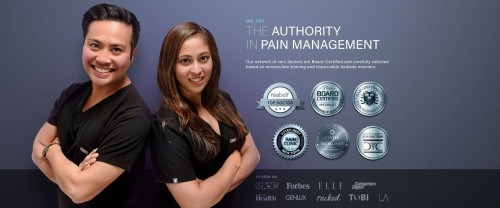 Knee and Back Pain Treatment Specialists Background Image