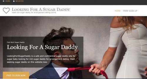 To find a rich sugar daddy, most young sugar babies prefer to select a nice sugar dating site looking for a sugar daddy, this sugar dating site is the best platform for people to meet sugar daddy and sugar baby. http://www.lookingforasugardaddy.org/