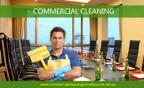 Commercial Cleaning is the cleansing works which are carried on in various areas through cleaning organizations who in return makes earnings from them. They're caught by persons, businesses or even organizations. The most power is seen particularly in wealthy countries. The standard methods these businesses occupy for advertising their particular services are by way of marketing, expert sales force, various web sites or even person to person. Visit this site http://www.commercialcleaninginmelbourne.net.au/commercial-cleaning/ for more information on Commercial Cleaning. Follow Us: https://goo.gl/Z9Dw4u https://goo.gl/MQ31c4 https://goo.gl/B1b6B7 https://goo.gl/Xb8gBv https://goo.gl/67OJd8