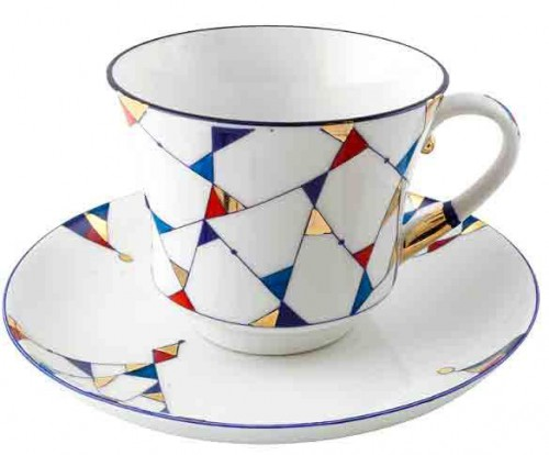 amazon.com Kaleidoscope Cup and Saucer from Lomonosov Po4ea304fdfbfbfa60d55a663132056a22